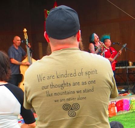 a thoughtful, spiritual t shirt