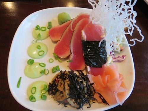 the ahi tuna artistry of the week