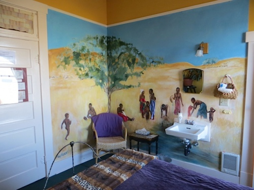 Alice Walker room...mural