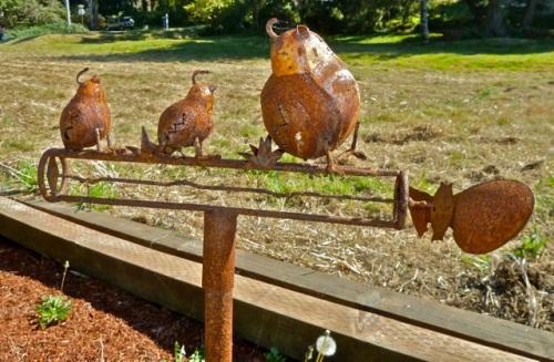 garden art (Allan's photo)