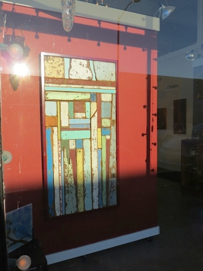 art gallery window