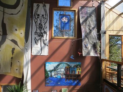 art on the high walls