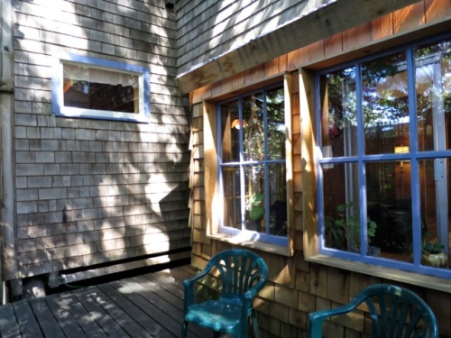 Allan's photo, back porch
