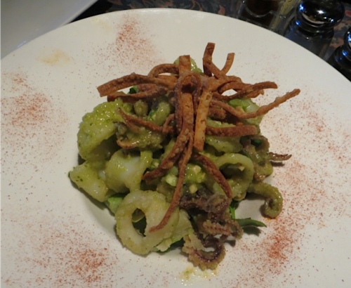 Thai calamari appetizer