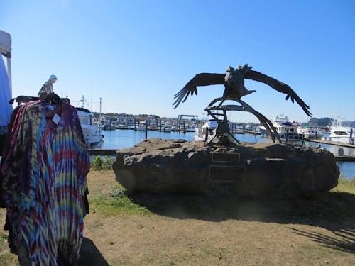 the condor statue