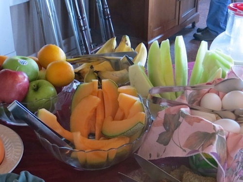 all the fresh fruit that you want