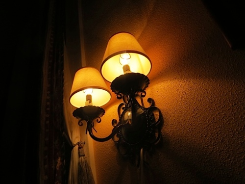 I wish for reading lamps like these at the head of my bed at home.