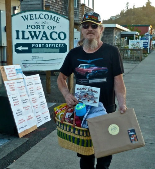 Allan's photo; The third prize winner had come all the way from central Oregon, and had had battery problems partway through the race.