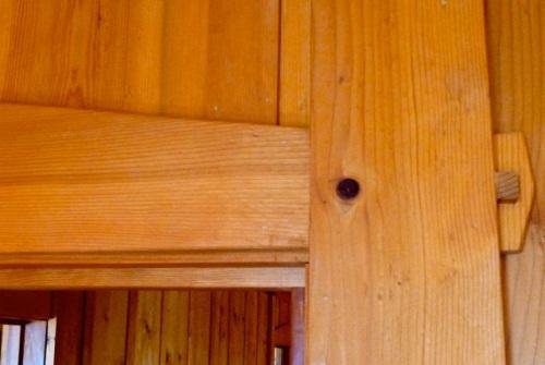 woodwork detail, Allan's photo
