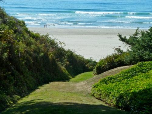 path to beach, Allan's photo