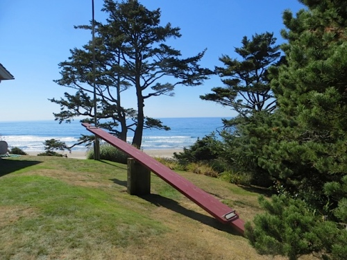seesaw on north lawn