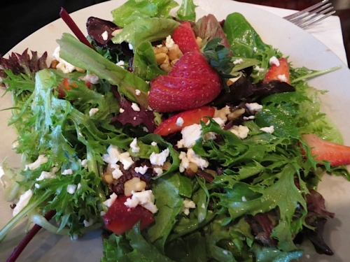 Allan's strawberry salad
