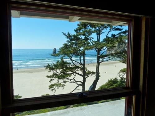 upstairs view (Allan's photo)