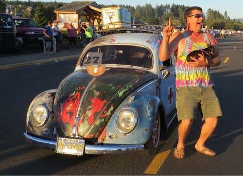 But another VW was the winner (and Bryan and I used to have a VW bug).