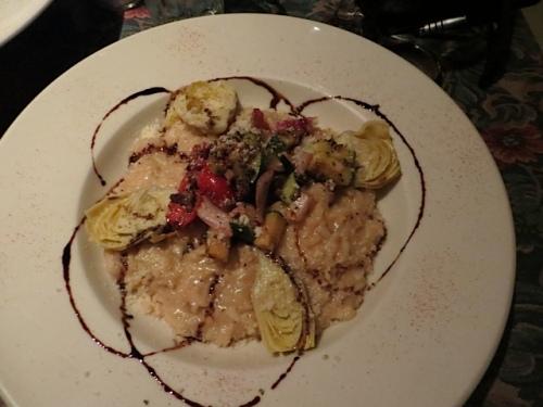 My artichoke risotto