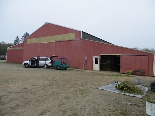 the barn itself
