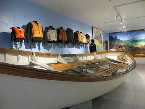 old Coast Guard rescue boat