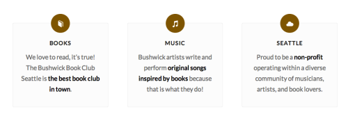 from the Bushwick Book Club website