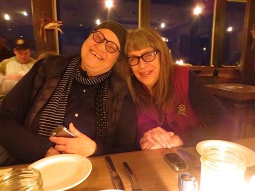 Allison and Heather
