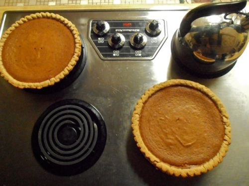 pie, pumpkin pie!