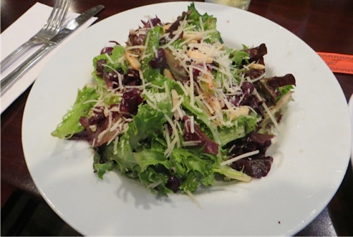 I had the new Cranberry Coast Salad...delectable