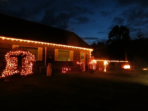 the spookiest house on Spruce Street