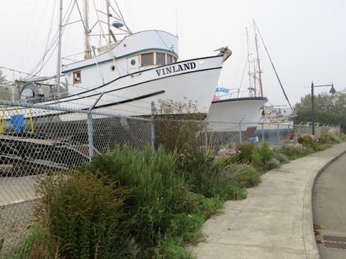 the northern stretch of boatyard garden