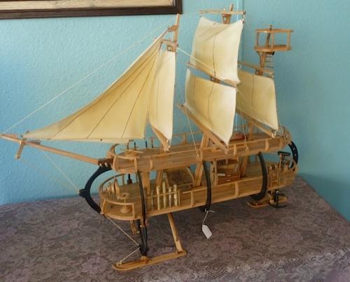 had made a beautiful boat.