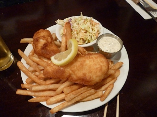 Terran's fish and chips