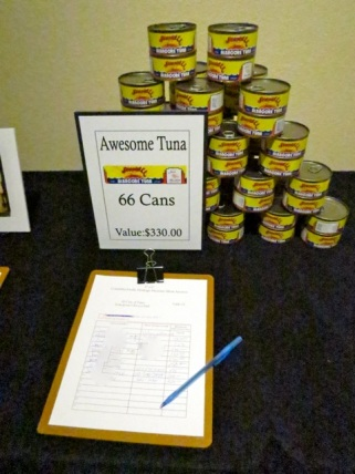 for example, this fine local tuna