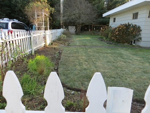 goodbye to the picket fence garden till 2015!!