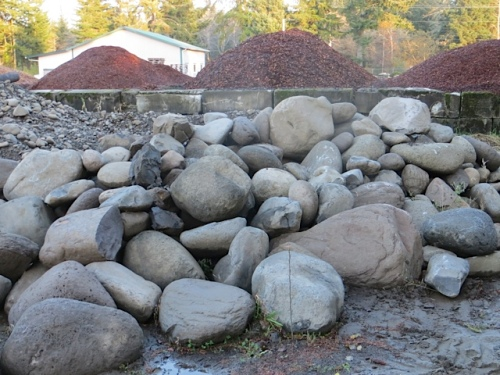 more pics of the very cool large river rock on offer