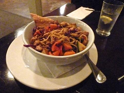 and a yakisoba bowl.