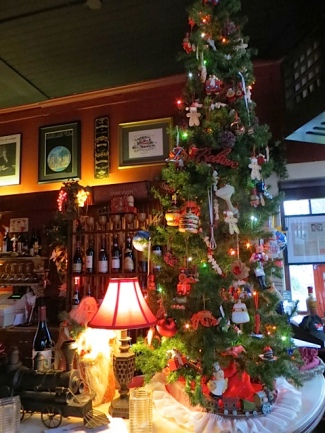 the Depot culinary-themed tree