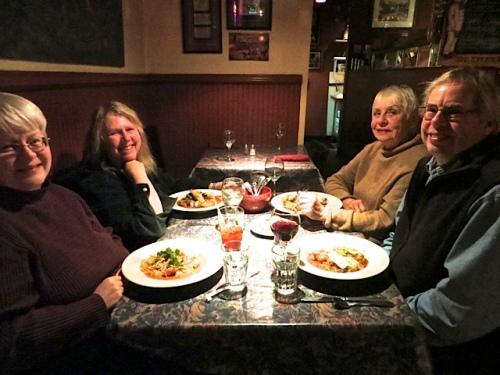 Kathleen, me, Patti, Allan