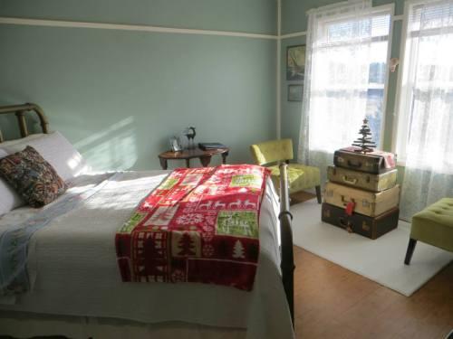 east facing bedroom