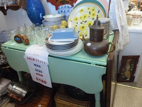 a cute table just like the one my grandma had.
