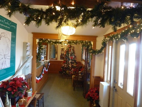 City Hall was decorated with extra care this year.