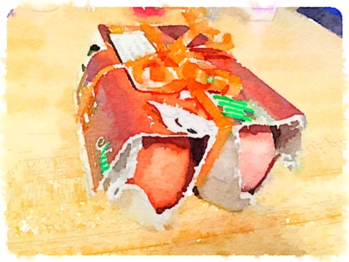Waterlogue: eggs from the girls