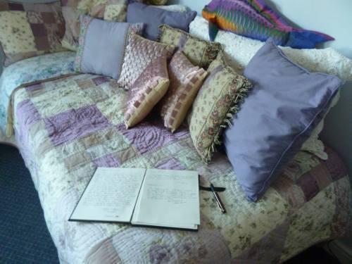 room journal in the Hideaway