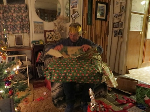 """""""The pillows aren't part of the present, are they?"""" he said."""