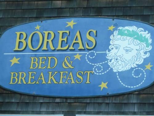 Boreas, god of the north wind