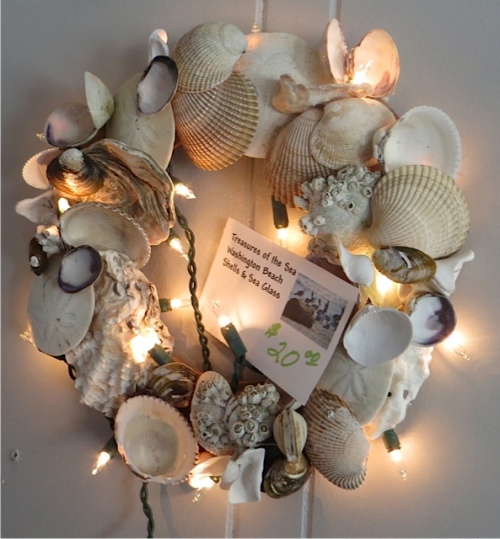 seashore wreath