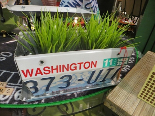 items made from license plates