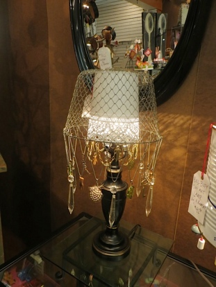 one of Heather's lamps