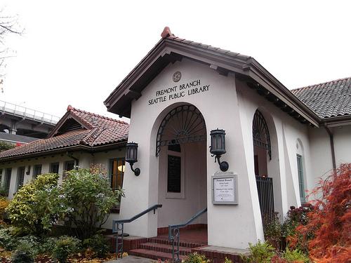 the idyllic Fremont Library