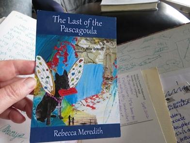 a writer's postcard