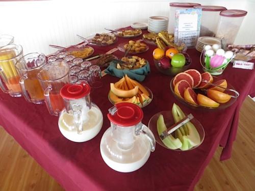 breakfast offerings