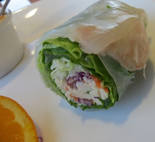The Fresh Rolls, on the other hand, were bigger than they used to be, and just wonderful.