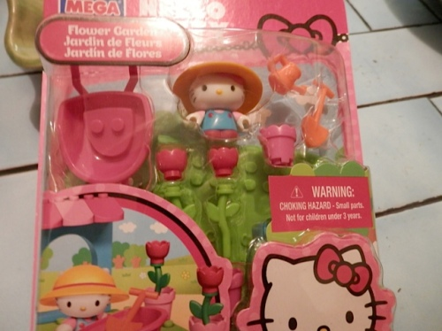 from Allan, a Hello Kitty gardening set!
